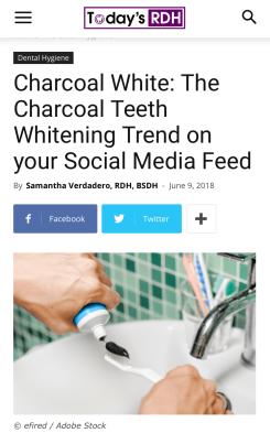 Charcoal White